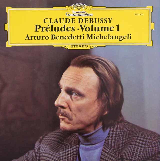 ミケランジェリのドビュッシー/前奏曲集 第1巻 独DGG 3124 LP レコード
