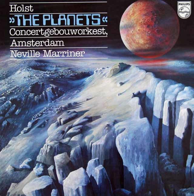 マリナーのホルスト/「惑星」 蘭PHILIPS 3124 LP レコード
