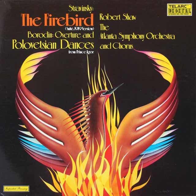 ショウのストラヴィンスキー/「火の鳥」組曲ほか 独TELARC 3124 LP レコード