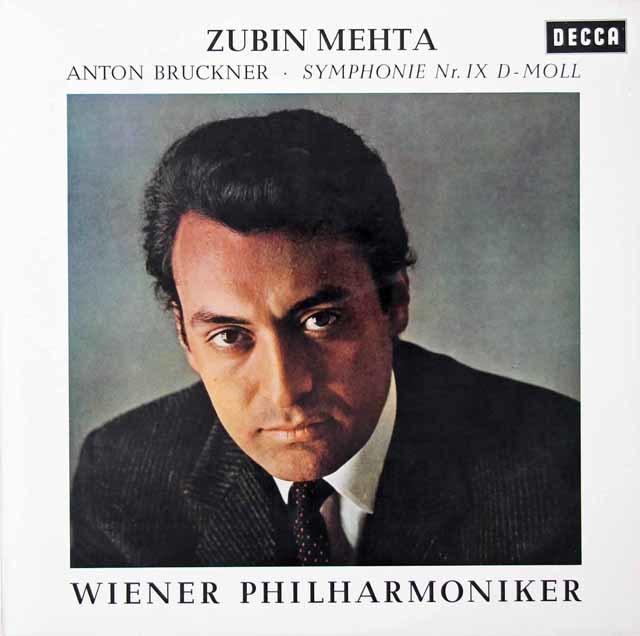 メータのブルックナー/交響曲第9番 独DECCA 3125 LP レコード