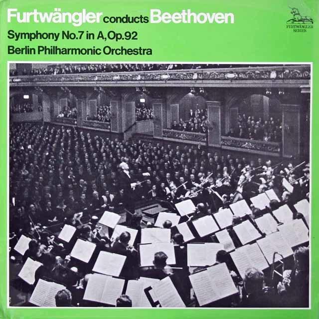 フルトヴェングラーのベートーヴェン/交響曲第7番 英UNICORN 3125 LP レコード