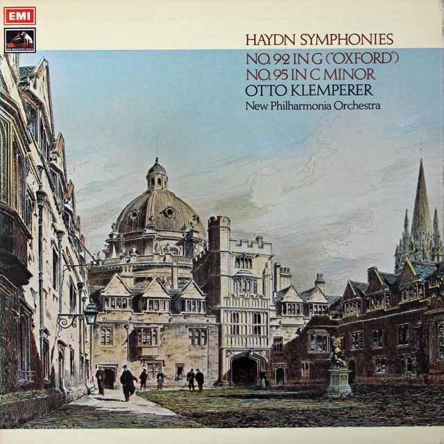 【オリジナル盤】クレンペラーのハイドン/交響曲第92番「オックスフォード」& 95番  英EMI 3125 LP レコード