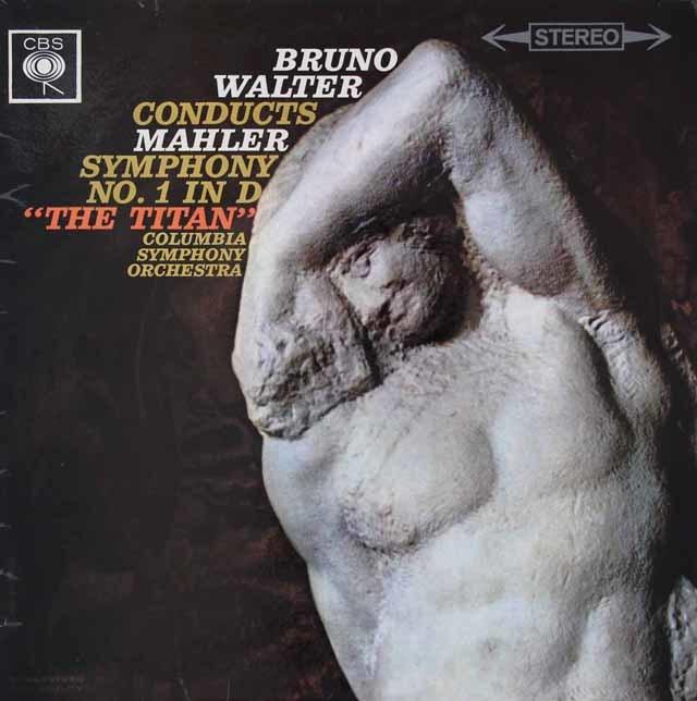 ワルターのマーラー/交響曲第1番「巨人」 英CBS 3126 LP レコード