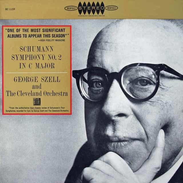【内袋未開封】 セルのシューマン/交響曲第2番 米EPIC 3126 LP レコード