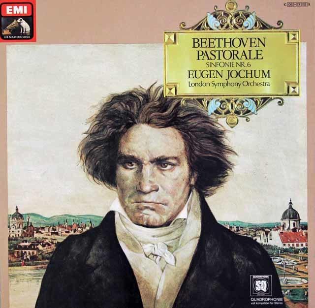 ヨッフムのベートーヴェン/交響曲第6番「田園」 独EMI 3126 LP レコード