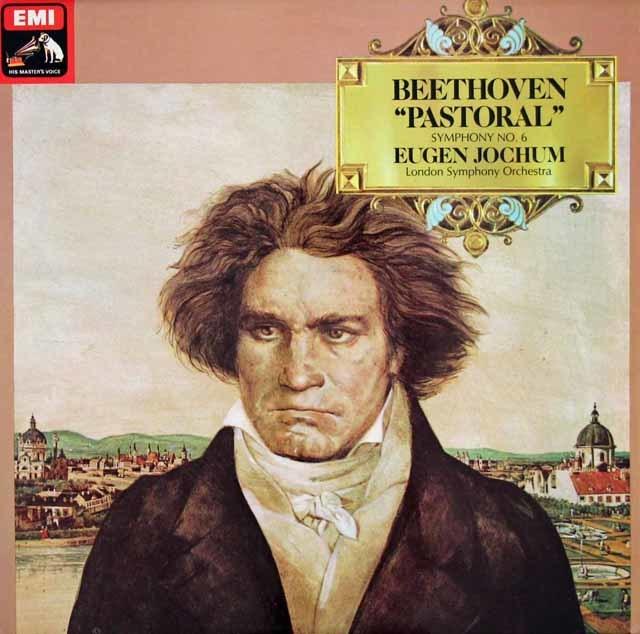 【オリジナル盤】 ヨッフムのベートーヴェン/交響曲第6番「田園」 英EMI 3126 LP レコード