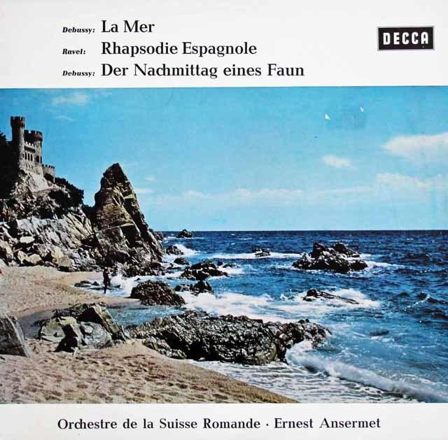 アンセルメのドビュッシー/「牧神の午後への前奏曲」ほか 独DECCA 3126 LP レコード