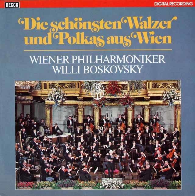 ボスコフスキーのニューイヤー・コンサート1979 独DECCA 3126 LP レコード