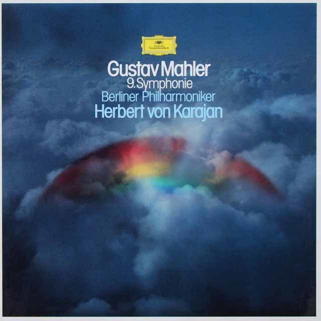 カラヤンのマーラー/交響曲第9番 独DGG 3126 LP レコード