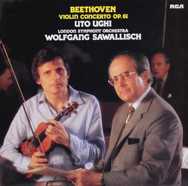 ウーギ&サヴァリッシュのベートーヴェン/ヴァイオリン協奏曲 独RCA 3126 LP レコード
