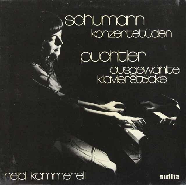 コメレルのシューマン/パガニーニの奇想曲による6つの演奏会用練習曲ほか 独FSM 3126 LP レコード