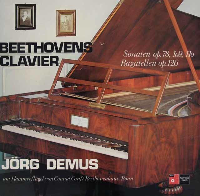 デームスのベートーヴェン/ピアノソナタ第24番ほか 独BASF/HM 3126 LP レコード