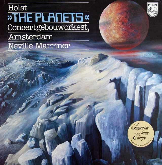 マリナーのホルスト/「惑星」 蘭PHILIPS 3127 LP レコード