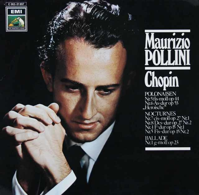 ポリーニのショパン/ピアノ小品集 独EMI 3127 LP レコード