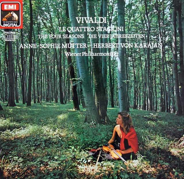 ムター&カラヤンのヴィヴァルディ/「四季」 独EMI 3127 LP レコード