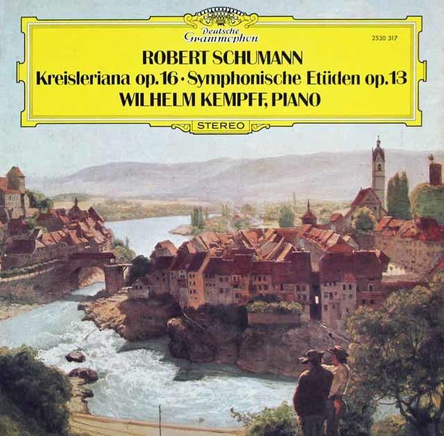 ケンプのシューマン/「クライスレリアーナ」&「交響的練習曲」  独DGG 3127 LP レコード