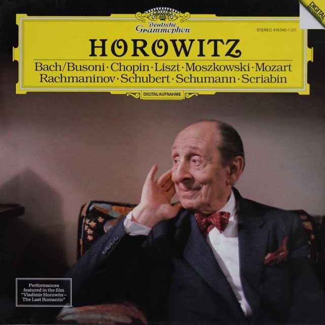 ホロヴィッツ/ピアノ・リサイタル   独DGG 3127 LP レコード