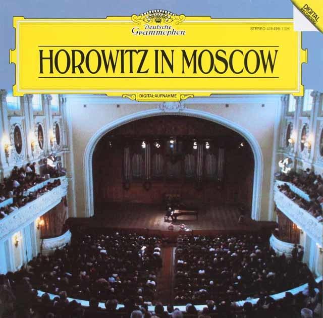 ホロヴィッツ/モスクワライヴ1986 独DGG 3127 LP レコード
