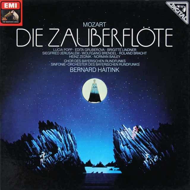 ハイティンクのモーツァルト/「魔笛」 独EMI 3127 LP レコード