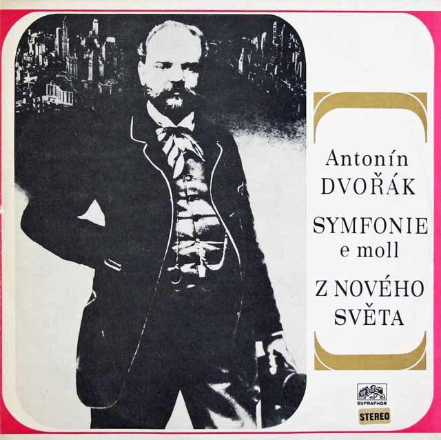 アンチェルのドヴォルザーク/交響曲第9番「新世界より」 チェコスロヴァキアSUPRAPHON 3128 LP レコード