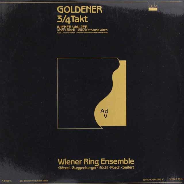 ウィーン・リング・アンサンブルのランナー&J.シュトラウス1世/ワルツ集 オーストリアadv 3128 LP レコード