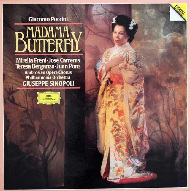 シノーポリのプッチーニ/蝶々夫人 独DGG 3128 LP レコード