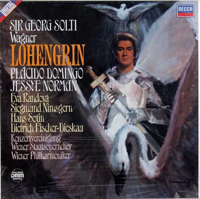 【未開封】ショルティのワーグナー/「ローエングリン」 独DECCA 3128 LP レコード
