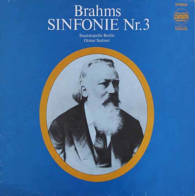 スウィトナーのブラームス/交響曲第3番 独ETERNA 3129 LP レコード
