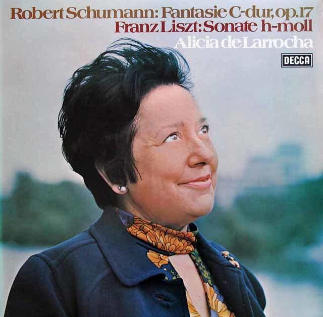 ラローチャのシューマン/「幻想曲」ほか 独DECCA 3129 LP レコード