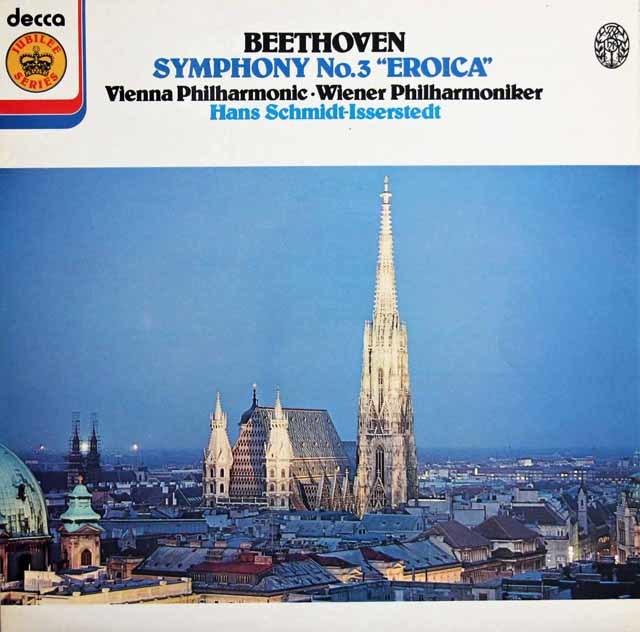 イッセルシュテットのベートーヴェン/交響曲第3番「英雄」 英DECCA 3129 LP レコード