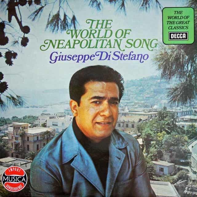 ステファノの「ナポリ民謡の世界」 英DECCA 3129 LP レコード