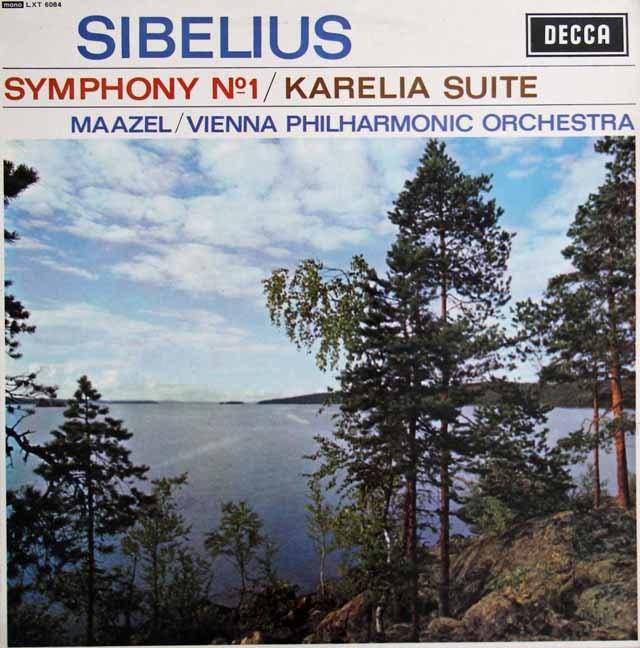 【モノラル】 マゼールのシベリウス/交響曲第1番ほか 英DECCA 3129 LP レコード