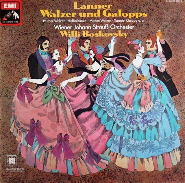 ボスコフスキーのランナー/ワルツとギャロップ 独EMI 3129 LP レコード
