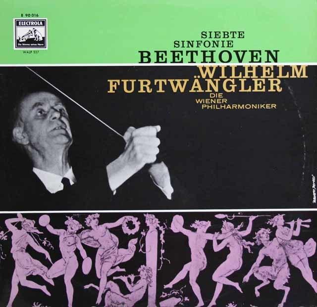 フルトヴェングラーのベートーヴェン/交響曲第7番  独EMI 3129 LP レコード