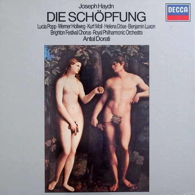 【未開封】 ドラティのハイドン/「天地創造」 独DECCA 3129 LP レコード