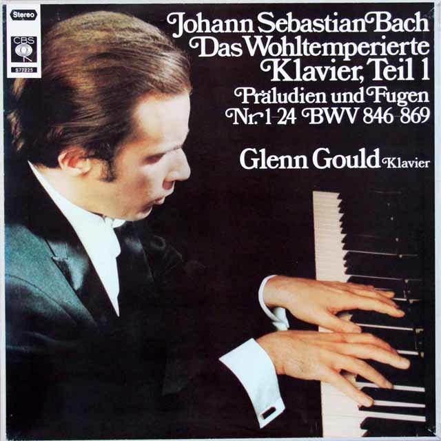 グールドのバッハ/平均律クラヴィーア曲集第1巻(全曲) 独CBS 3129 LP レコード