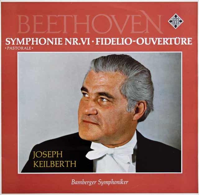 カイルベルトのベートーヴェン/交響曲第6番「田園」ほか 独TELEFUNKEN 3130 LP レコード