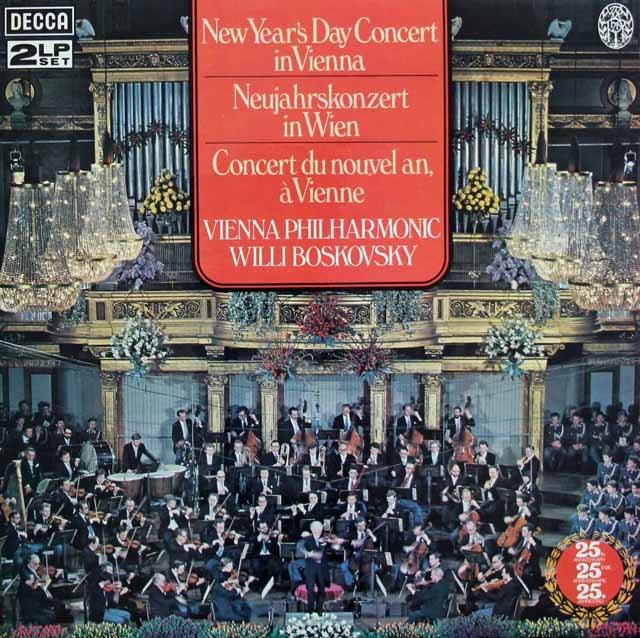 【オリジナル盤】ライヴ!ボスコフスキーのニューイヤー・コンサート1979 英DECCA 3130 LP レコード