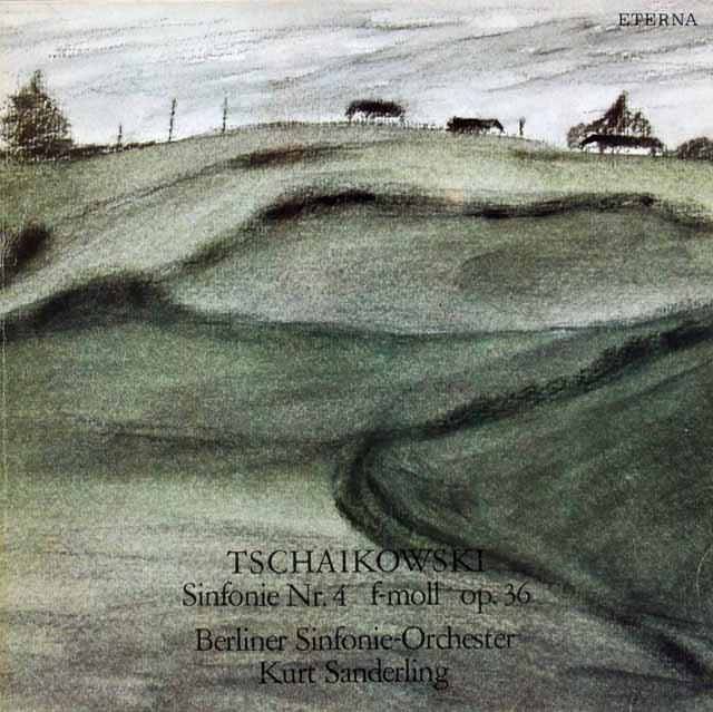 ザンデルリンクのチャイコフスキー/交響曲第4番 独ETERNA 3130 LP レコード