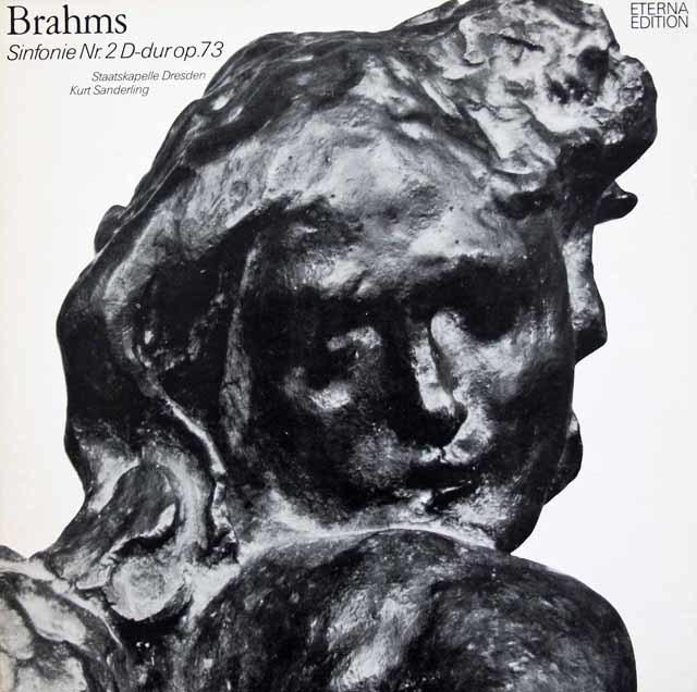 ザンデルリンクのブラームス/交響曲第2番 独ETERNA 3130 LP レコード