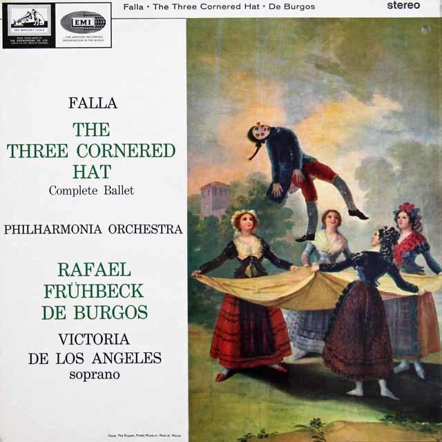 【オリジナル盤】ブルゴスのファリャ/三角帽子  英HMV 3130 LP レコード