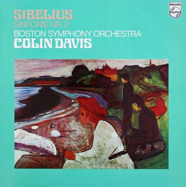 デイヴィスのシベリウス/交響曲第2番 蘭PHILIPS 3130 LP レコード
