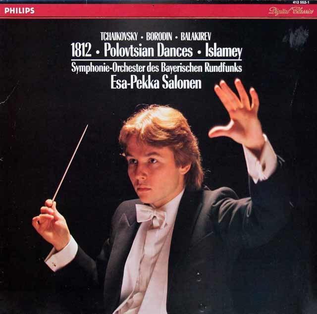 サロネンのチャイコフスキー/大序曲「1812年」ほか 蘭PHLIPS 3130 LP レコード