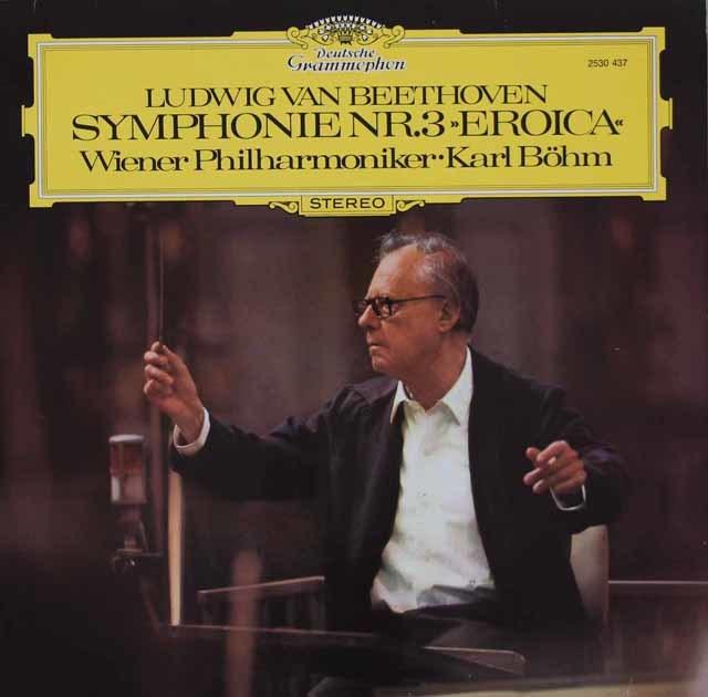 ベームのベートーヴェン/交響曲第3番「英雄」 独DGG 3130 LP レコード