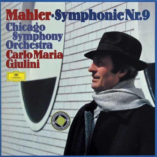 ジュリーニのマーラー/交響曲第9番 独DGG 3130 LP レコード