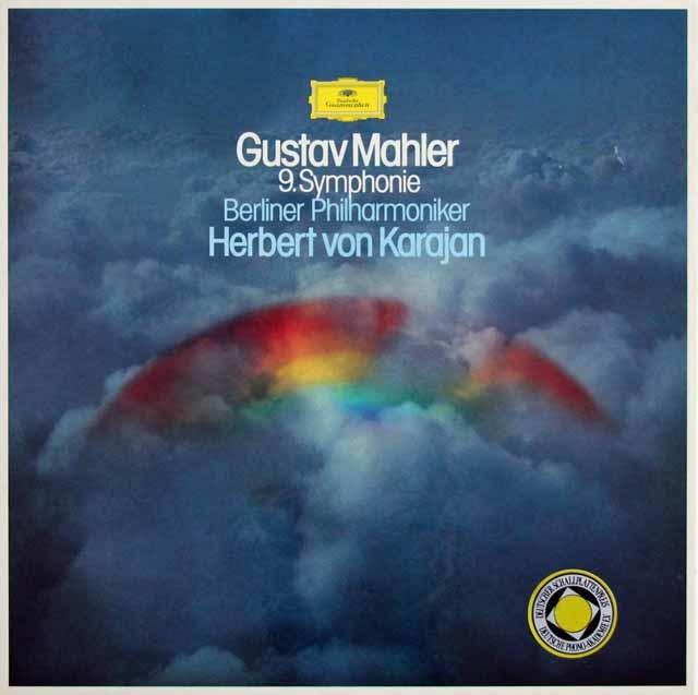 カラヤンのマーラー/交響曲第9番 独DGG 3130 LP レコード