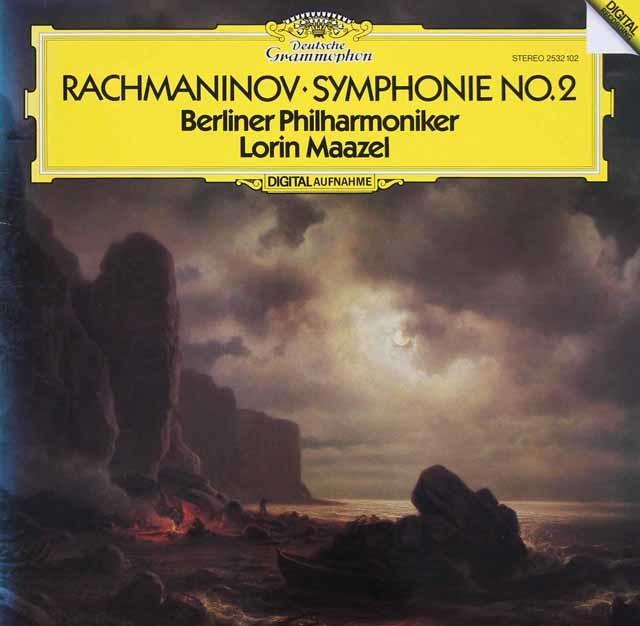 マゼールのラフマニノフ/交響曲第2番 独DGG 3131 LP レコード
