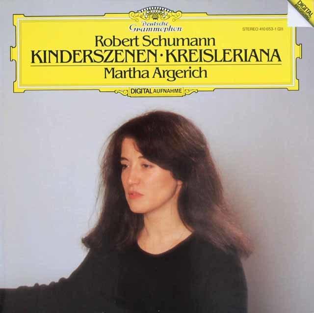 アルゲリッチのシューマン/「子供の情景」、「クライスレリアーナ」 独DGG 3131 LP レコード