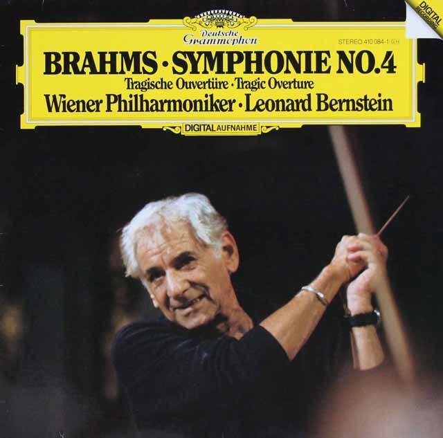 バーンスタインのブラームス/交響曲第4番 独DGG 3131 LP レコード