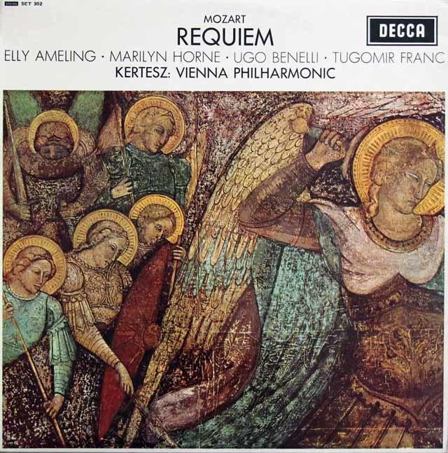 【オリジナル盤】ケルテスのモーツァルト/レクイエム  英DECCA 3131 LP レコード
